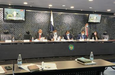 Participación en Reunión ordinaria PRIMER DEBATE Proyecto de Ley Nº529 de la Comisión de Comunicación y Transporte de la Asamblea Nacional.