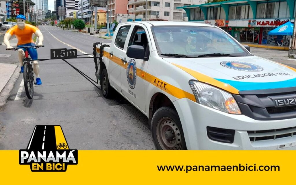 ¿Viste el carro de la ATTT en La Caravana del Tour de Panamá?
